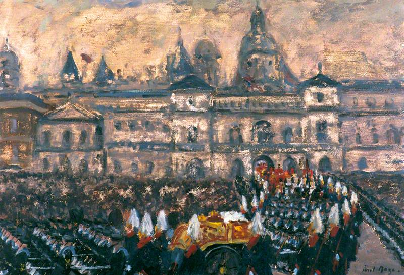 The Funeral of George VI