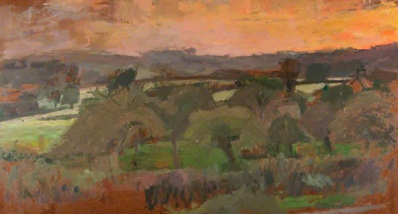 Landscape at Box, Wiltshire