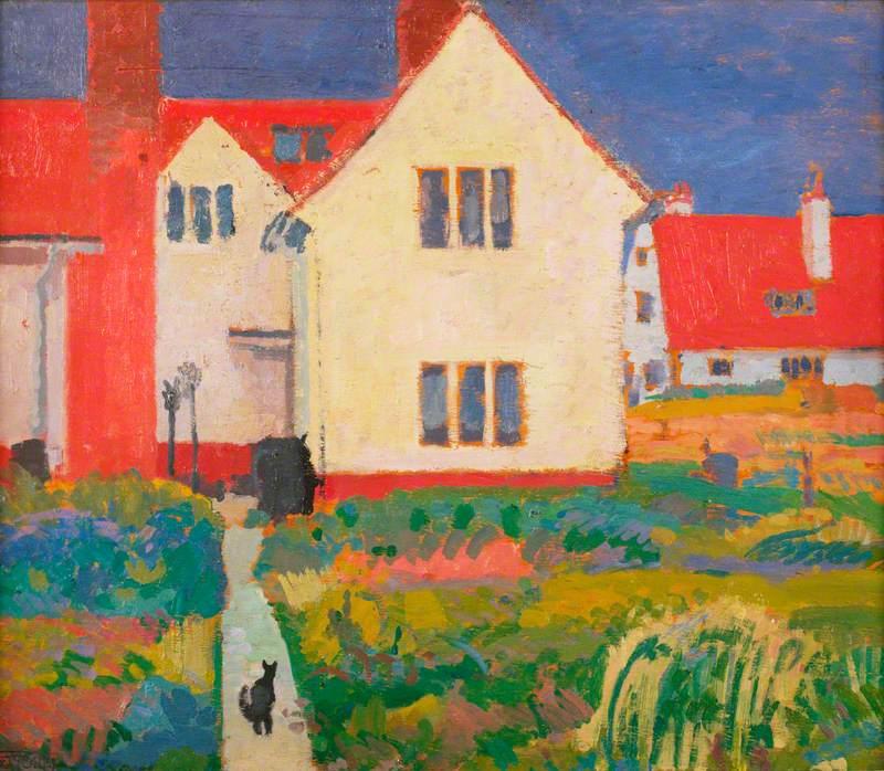 Harold Gilman's House at Letchworth