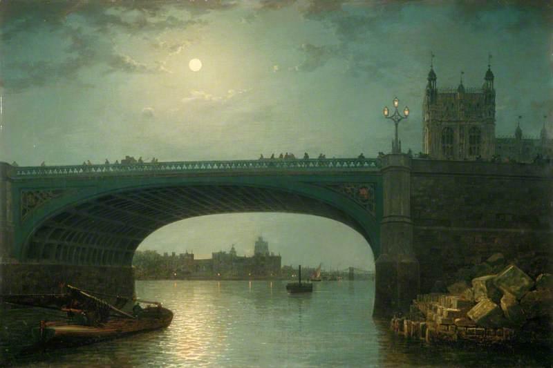 Westminster Bridge by Moonlight