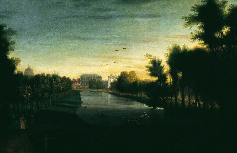 St James's Park and Banqueting House