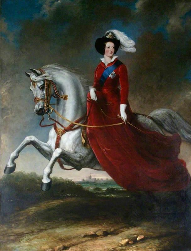 Queen Victoria (1819–1901), on Horseback