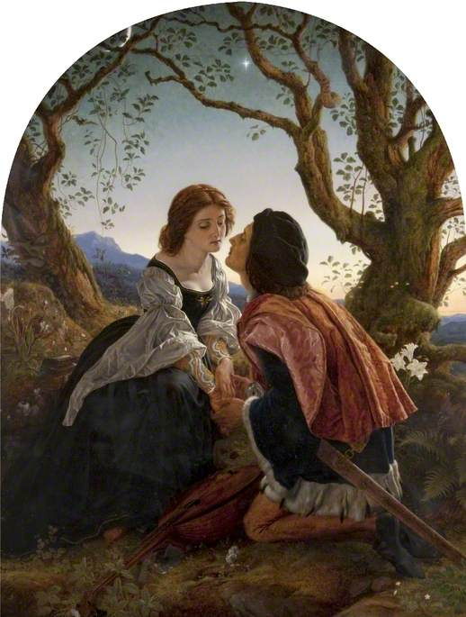 Hesperus, the Evening Star, Sacred to Lovers
