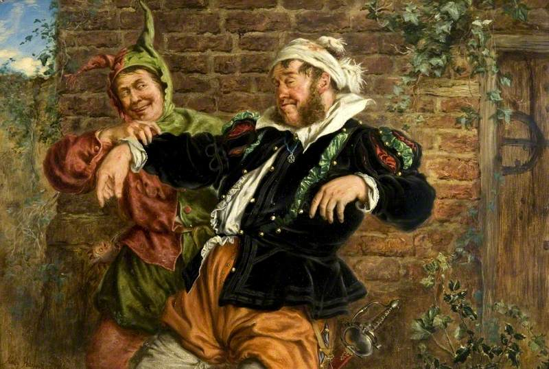 Sir Toby Belch and the Clown