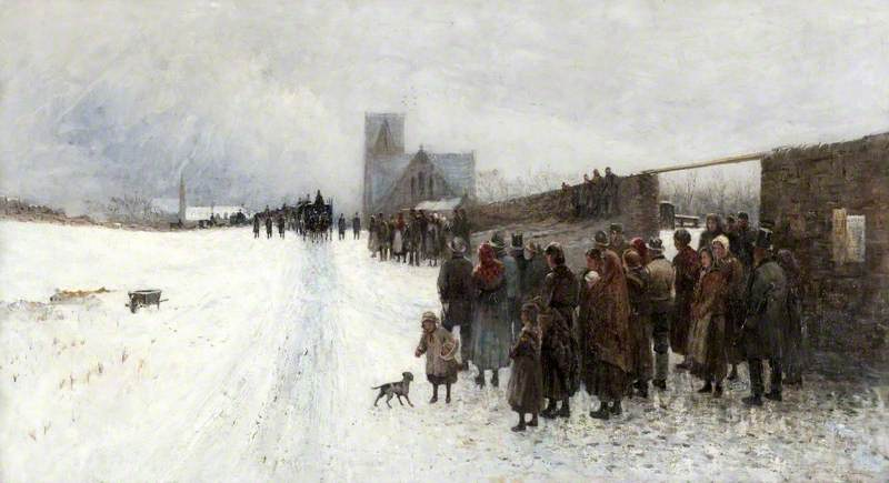 The Funeral of Thomas Carlyle