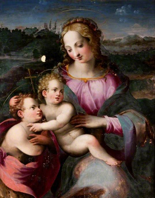 Virgin and Child with the Child Baptist