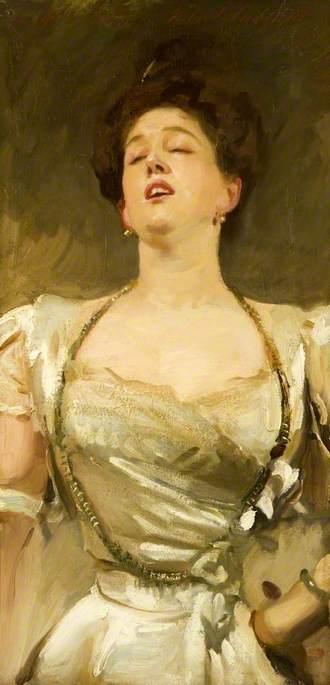 Mrs George Batten Singing