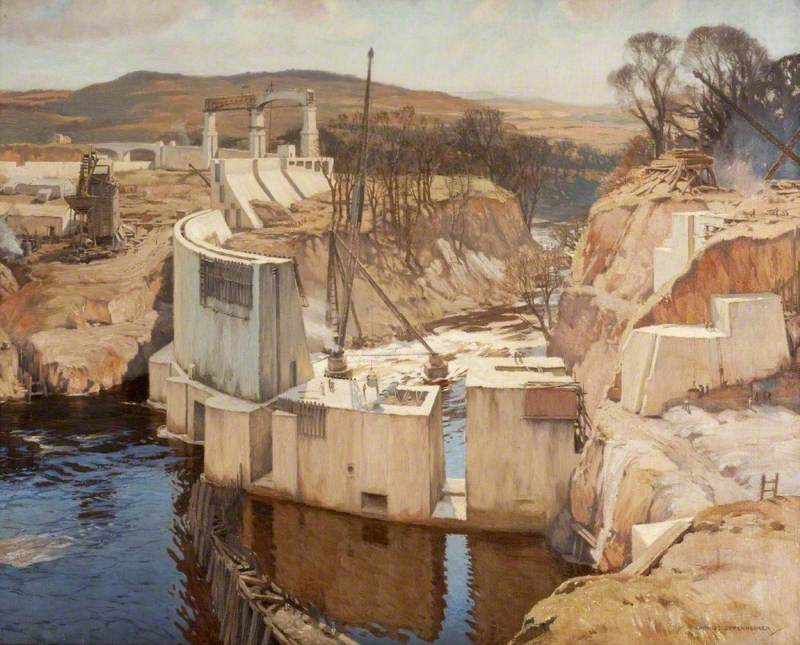 Harnessing the Dee, Galloway