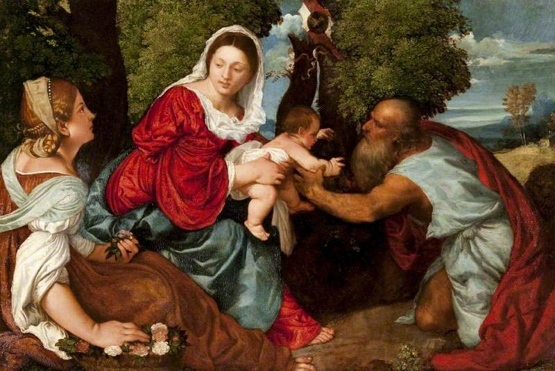 Madonna and Child with Saint Jerome and Saint Dorothy