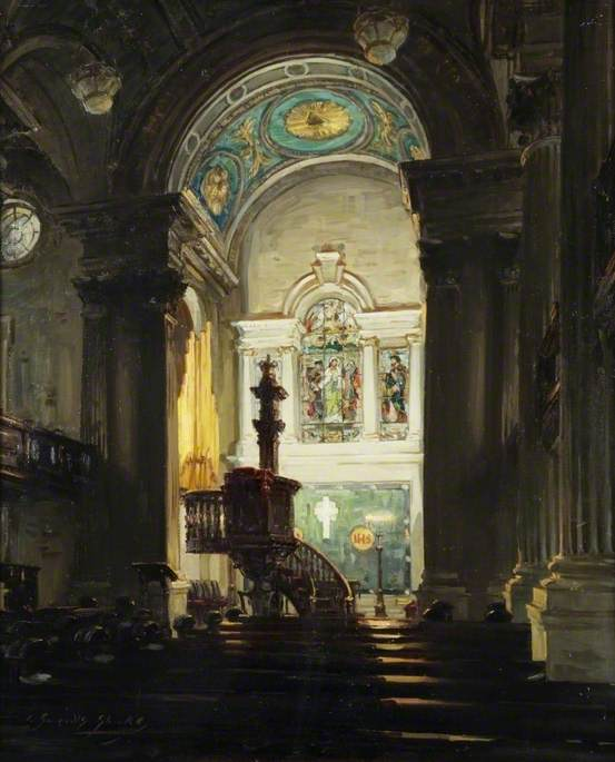 The Chancel, St Andrew's Parish Church, Glasgow