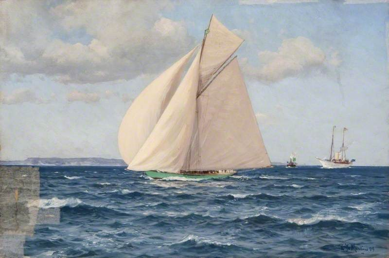 Yacht 'Shamrock'