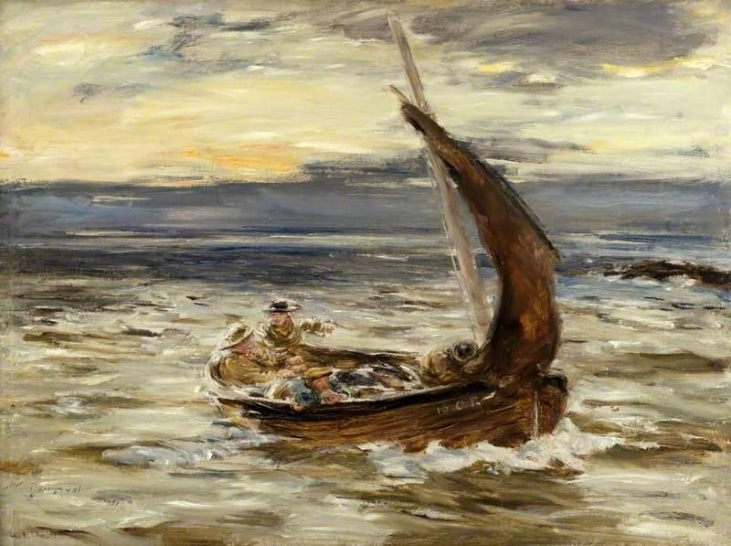 Dawn at Sea, Homewards