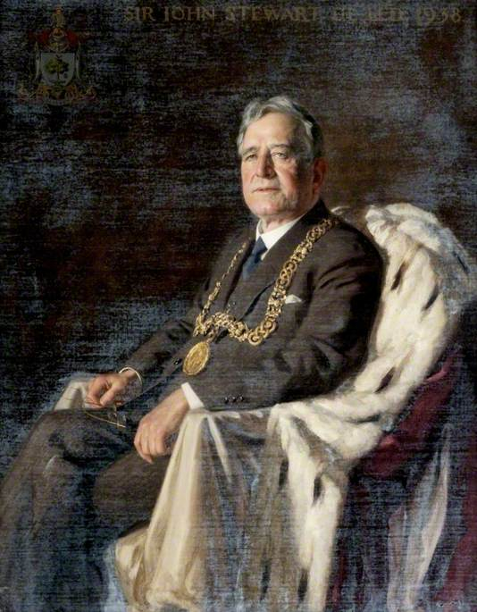 Sir John Stewart, Lord Provost of Glasgow (1935–1938)