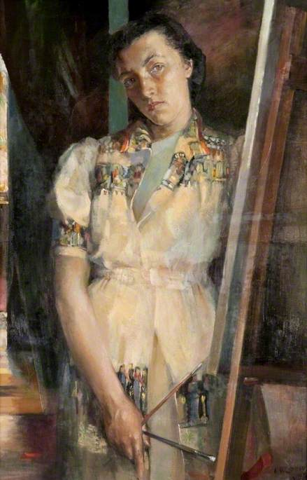 Reflection (Self Portrait)