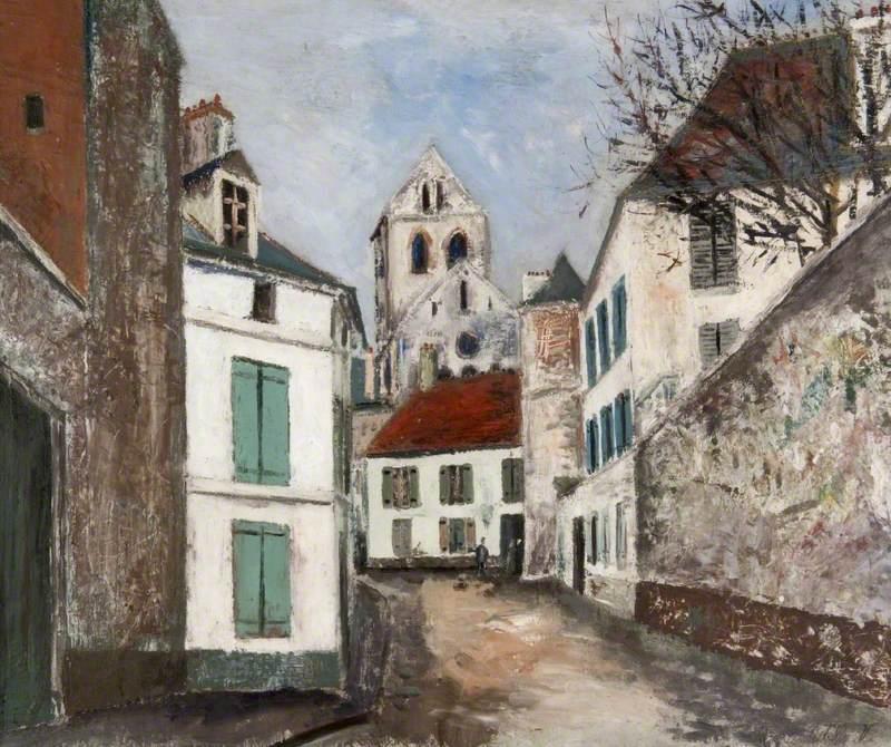 Village Street, Auvers-sur-Oise