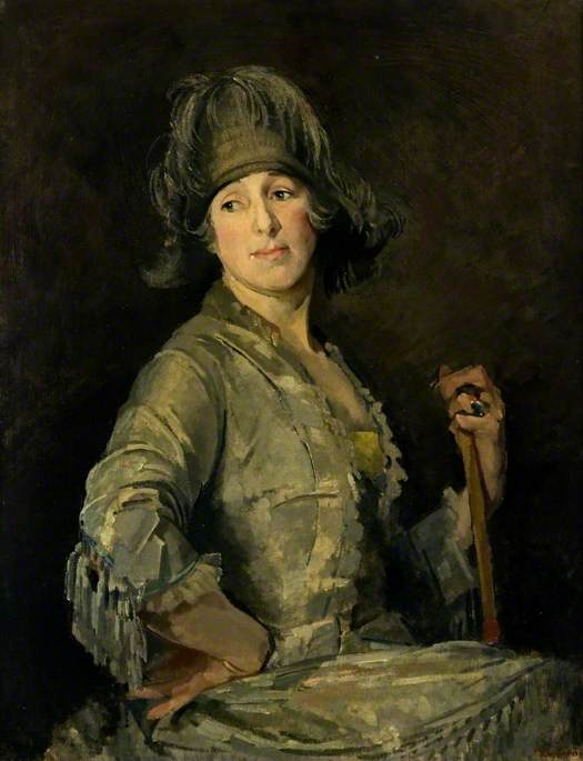 Portrait of a Lady in Grey (Mrs Benge)