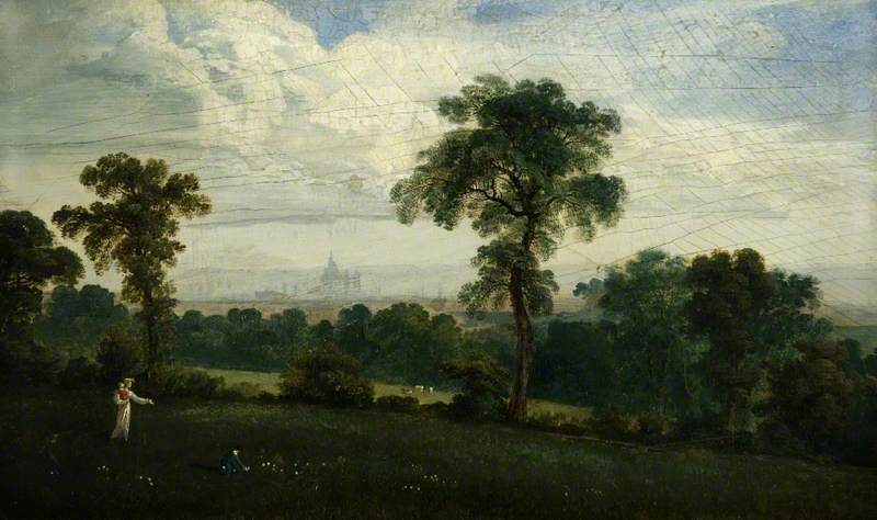 Distant View of London