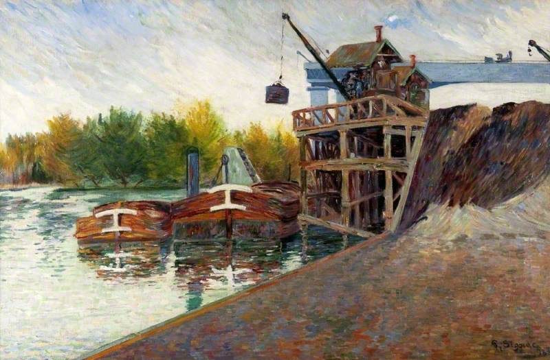 Coal Crane, Clichy