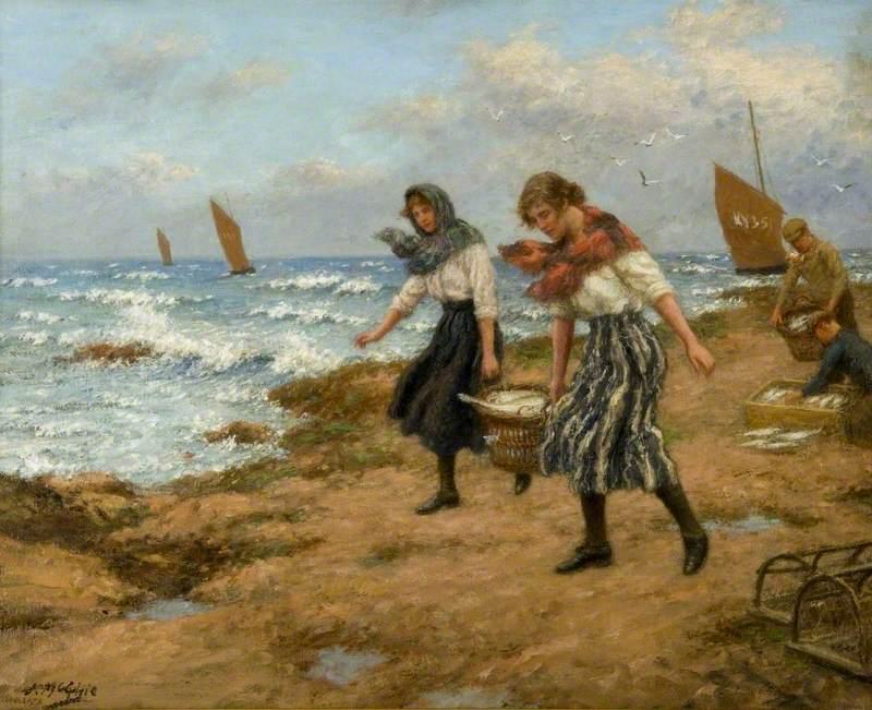 Fisher Girls Landing the Catch