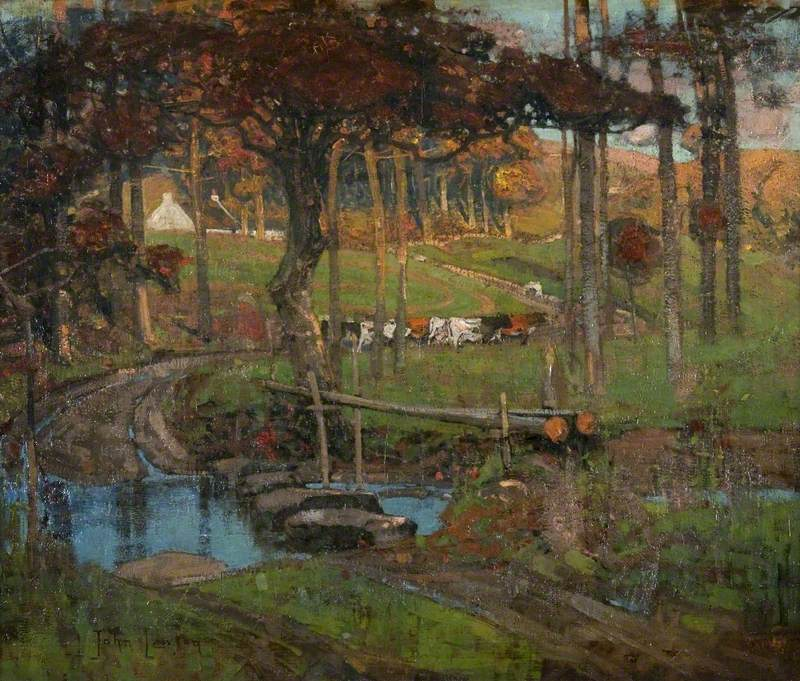 An Ayrshire Stream