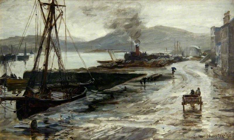 Wet Day on the Clyde
