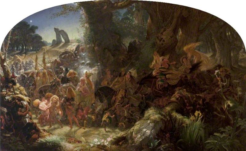 The Fairy Raid: Carrying Off a Changeling, Midsummer Eve