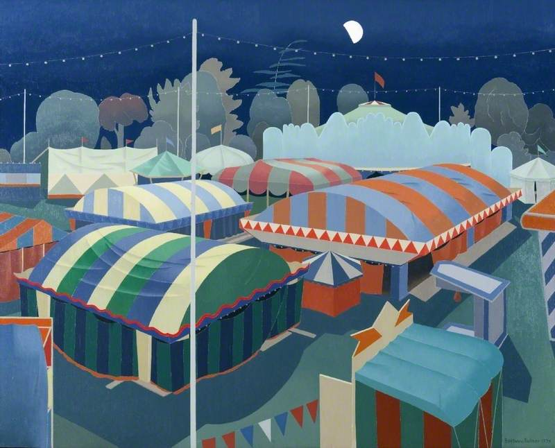 Sleeping Fairground
