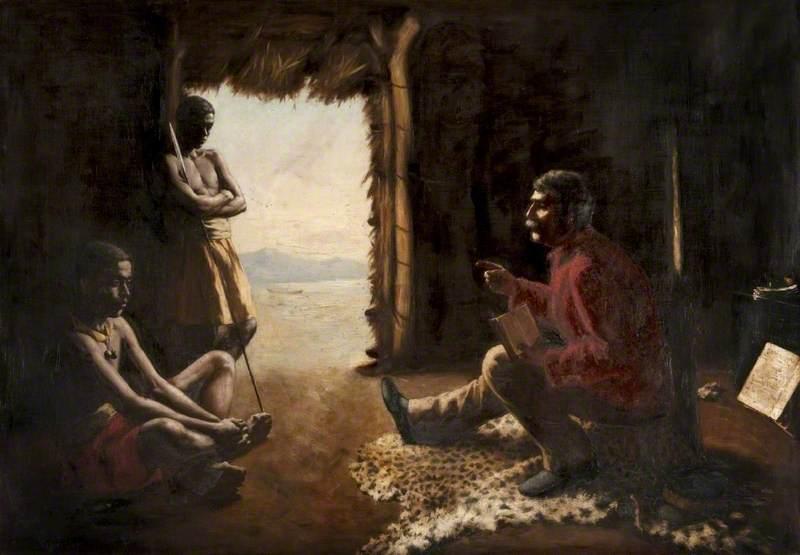 Dr Livingstone Teaching the Natives