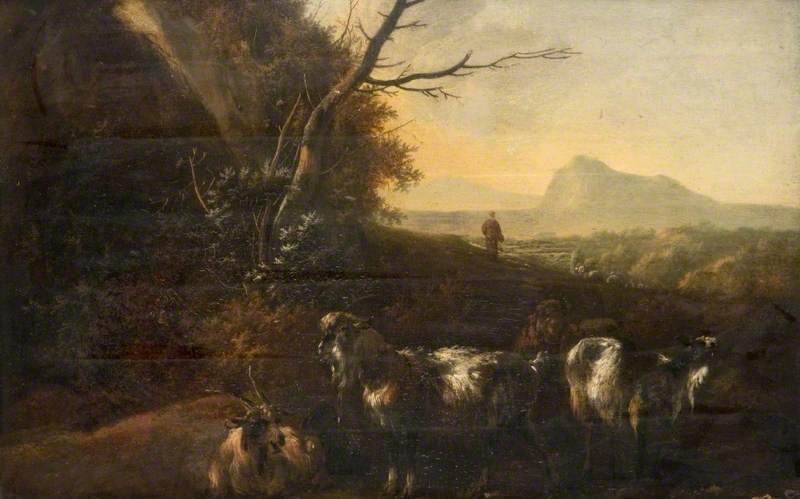 A Landscape with Goats
