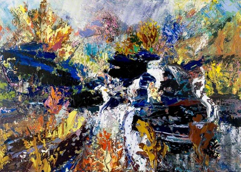 The Black Rock Falls
