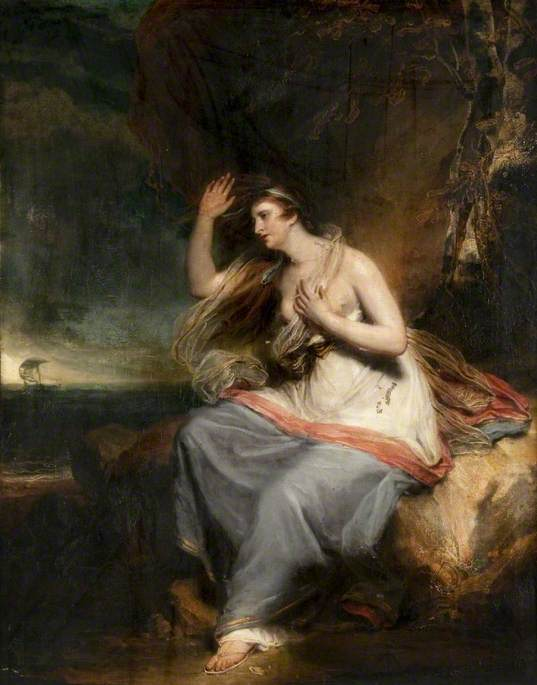 Ariadne Deserted by Theseus