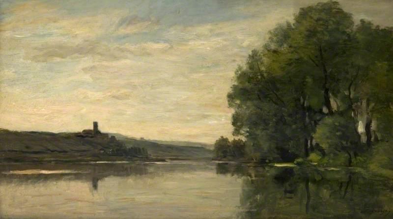 Château Gaillard, the Seine at Roche Guyon