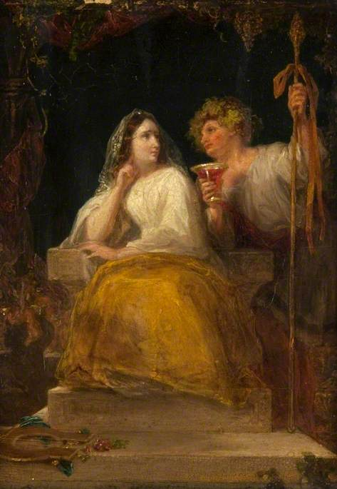 Comus Offering the Enchanted Cup to the Lady