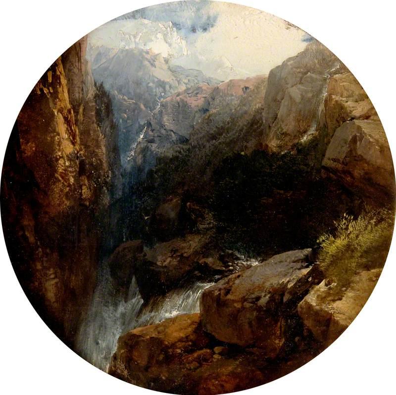 Rocky Landscape, Val d'Aosta