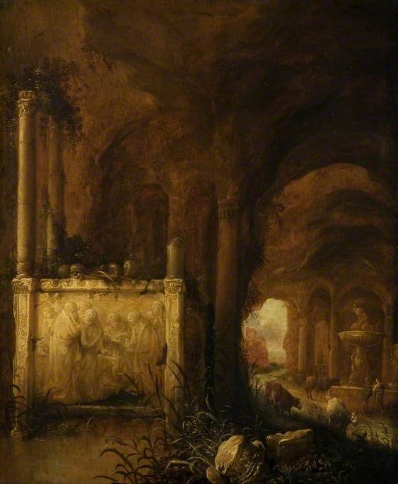 A Tomb in a Grotto