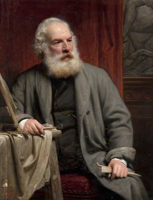 John Mossman (1817–1890), Sculptor