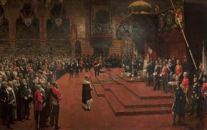State Visit of Her Majesty, Queen Victoria to the Glasgow International Exhibition, 1888