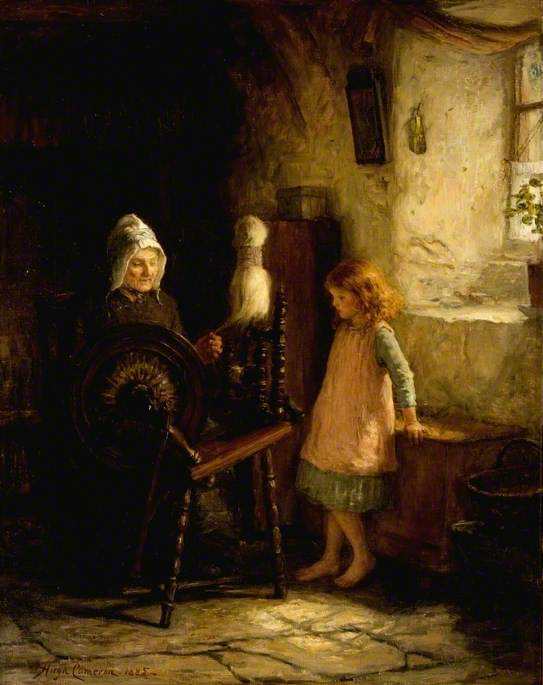The Spinning Lesson