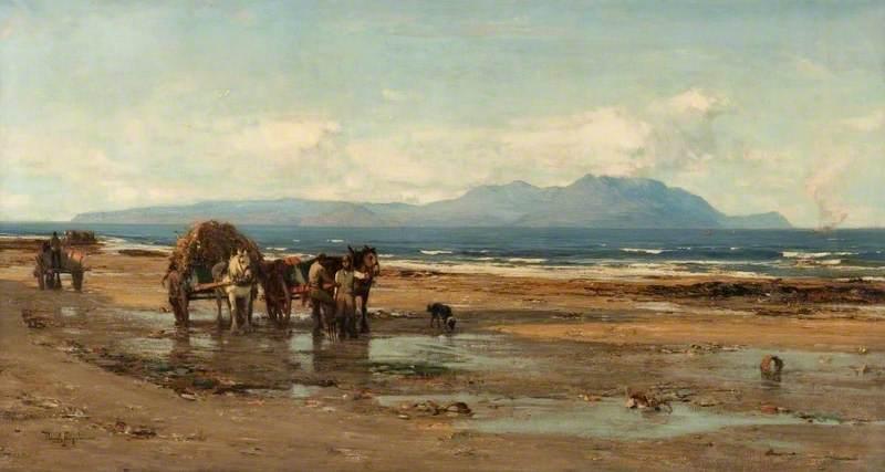 Arran from the Ayrshire Coast