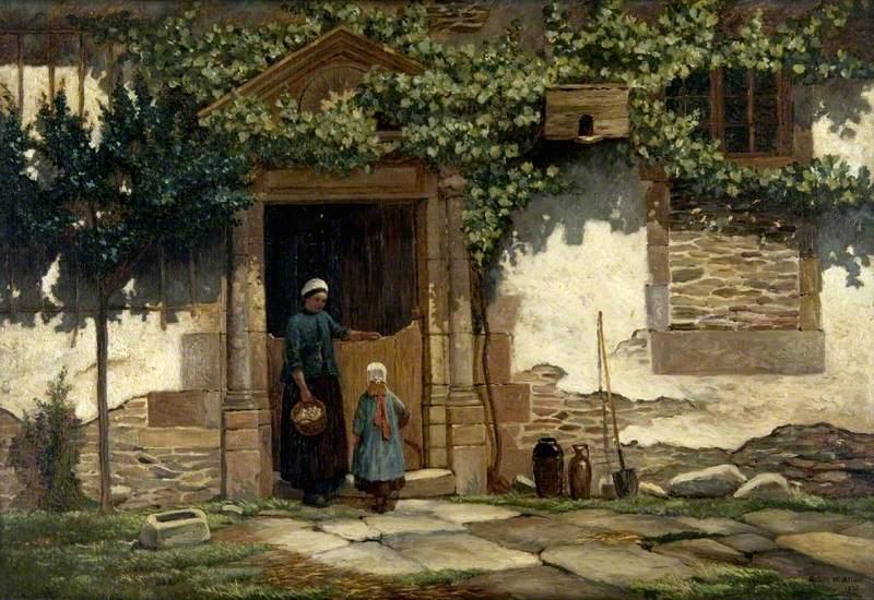 Doorway and Figures
