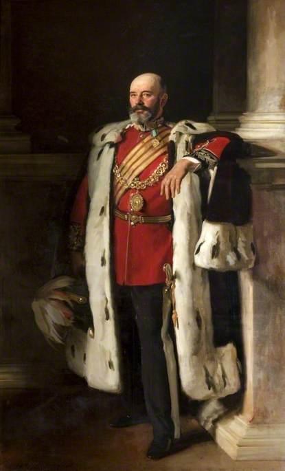Sir David Richmond (1843–1908), Lord Provost of Glasgow (1896–1899)