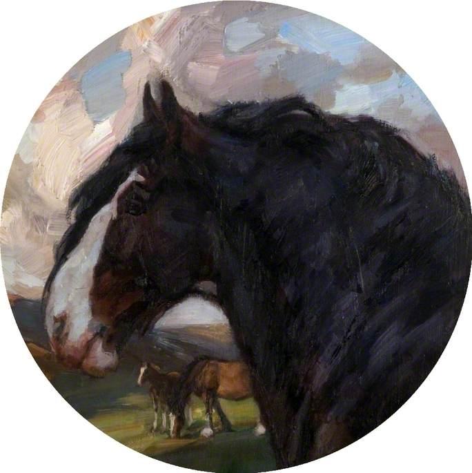 'Baron of Buchlyvie' Horse Portrait