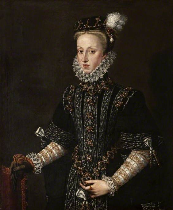 Anne of Austria (1546–1580), Fourth Wife of Philip II