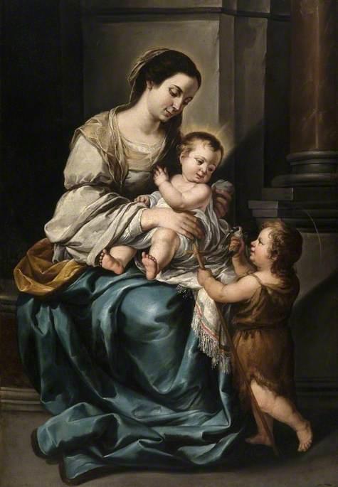 Madonna and Child with Infant Saint John, 'La serrana'