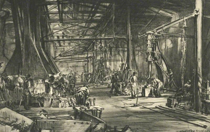 The Smith's Shop, Fairfield Shipyard