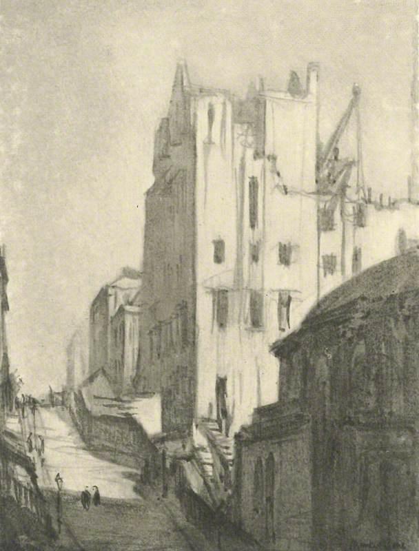 Building the School of Art, Renfrew Street