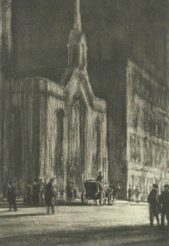 Cambridge Street by Night