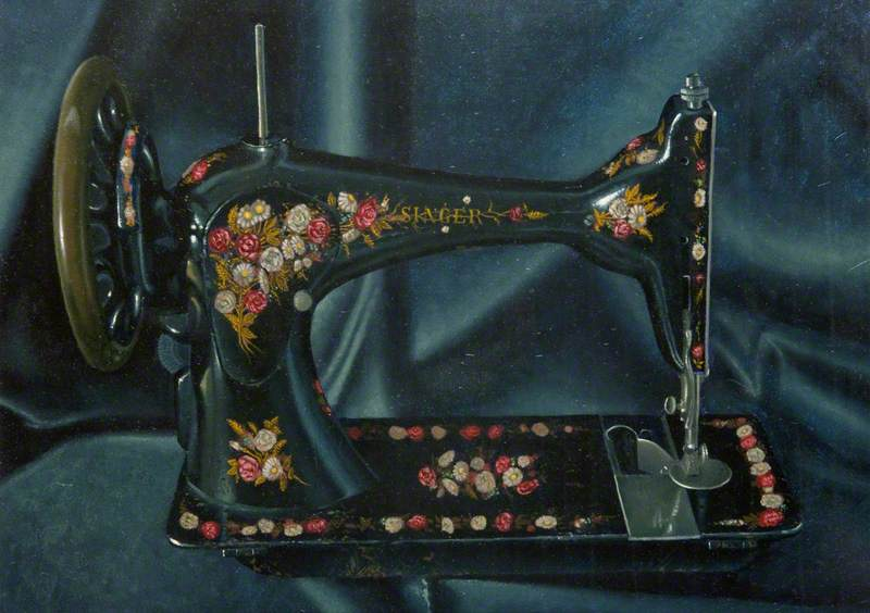 Up at Five (Singer Sewing Machine)