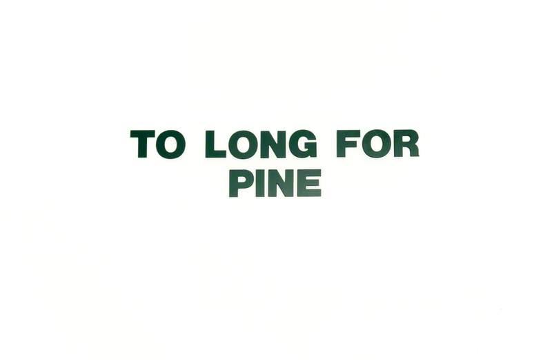 Six Landscapes (Pine)