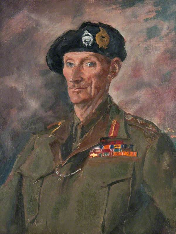 Field Marshal Bernard Law Montgomery (1887–1976), 1st Viscount Montgomery of Alamein